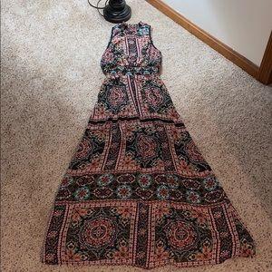 Xhilaration Boho Maxi Dress - Medium